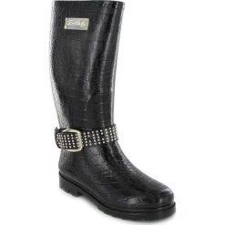 """Buty damskie: Kalosze """"Roxane"""" w kolorze czarnym"""