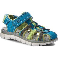 Sandały PRIMIGI - 7653300 S Turch. Niebieskie sandały męskie skórzane marki Primigi. W wyprzedaży za 179,00 zł.
