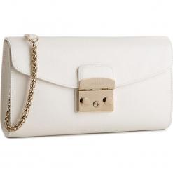 Torebka FURLA - Metropolis 962801 B BOT6 ARE Petalo. Białe torebki klasyczne damskie marki Furla, ze skóry. Za 1240,00 zł.