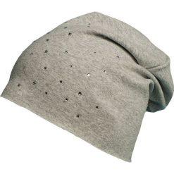 Dziecięca bawełniana czapka beanie W-30. Szare czapeczki niemowlęce Proman, z bawełny. Za 28,26 zł.