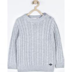 Sweter. Szare swetry chłopięce Winter Time, z bawełny. Za 79,90 zł.