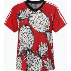 Adidas Originals - T-shirt damski, biały. Białe t-shirty damskie adidas Originals, l, z klasycznym kołnierzykiem. Za 179,95 zł.