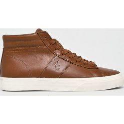 Polo Ralph Lauren - Buty. Szare buty skate męskie Polo Ralph Lauren, z gumy, na sznurówki. Za 499,90 zł.