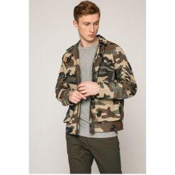 Jack & Jones - Kurtka. Czarne kurtki męskie przejściowe marki Jack & Jones, l, z bawełny, z okrągłym kołnierzem. W wyprzedaży za 179,90 zł.