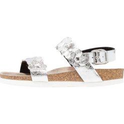 Genuins ROSALINO  Sandały argento. Szare sandały chłopięce Genuins, z materiału, z otwartym noskiem. W wyprzedaży za 160,30 zł.