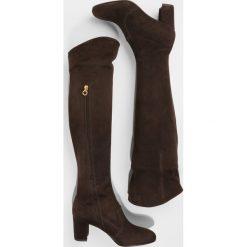 L'Autre Chose Muszkieterki coffee. Brązowe buty zimowe damskie L'Autre Chose, z materiału. W wyprzedaży za 944,55 zł.