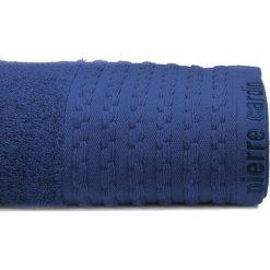 Kąpielówki męskie: Ręcznik w kolorze granatowym