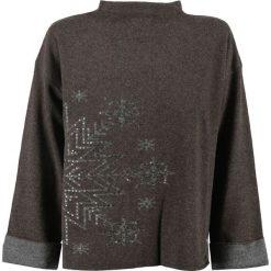 Swetry klasyczne damskie: Sweter BOGNER REBECA Brązowy