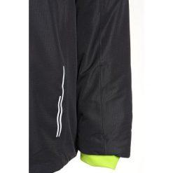 CMP BOY SNAPS HOOD JACKET Kurtka narciarska antracite. Czarne kurtki chłopięce sportowe marki CMP, z materiału, narciarskie. W wyprzedaży za 209,30 zł.