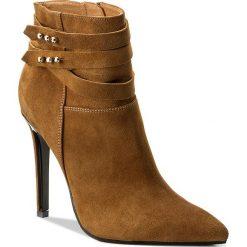 Botki EVA MINGE - Jimena 2H 17BD1372197EF 804. Brązowe buty zimowe damskie Eva Minge, z materiału. W wyprzedaży za 269,00 zł.