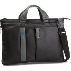 Torba na laptopa PIQUADRO - CA4021P15 Czarny. Czarne torby na laptopa marki Piquadro, ze skóry. W wyprzedaży za 659,00 zł.