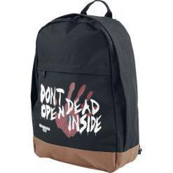 The Walking Dead Dead Inside Plecak czarny. Czarne plecaki męskie The Walking Dead, z napisami. Za 121,90 zł.