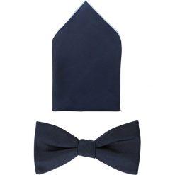 Krawaty męskie: VON FLOERKE SET Mucha blue