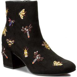 Botki STEVE MADDEN - Livia Ankle Boot 91000659-07063-01001 Black. Czarne botki damskie skórzane marki Steve Madden. W wyprzedaży za 359,00 zł.