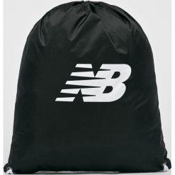 New Balance - Plecak. Czarne plecaki damskie New Balance, z poliesteru. W wyprzedaży za 39,90 zł.