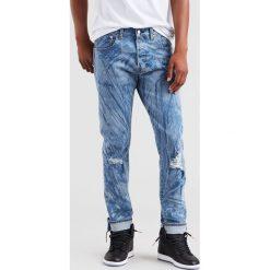 Levi's - Jeansy 501 Justin Timberlake. Brązowe jeansy męskie regular Levi's®, z bawełny. Za 449,90 zł.