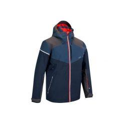 Kurtka narciarska SKI-P JKT 580 męska. Niebieskie kurtki narciarskie męskie marki QUECHUA, m, z elastanu. Za 349,99 zł.