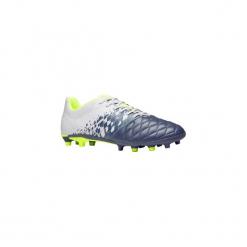 Buty do piłki nożnej Agility 500 FG korki. Szare buty skate męskie KIPSTA, z poliesteru, do piłki nożnej. W wyprzedaży za 79,99 zł.