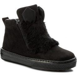 Botki RIEKER - Z5952-00 Black. Czarne buty zimowe damskie marki Kazar, ze skóry, na wysokim obcasie, na sznurówki. W wyprzedaży za 189,00 zł.