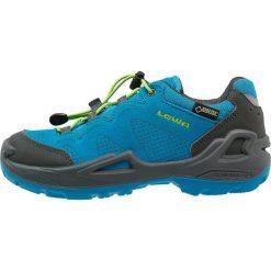 Buty trekkingowe chłopięce: Lowa DIEGO GTX Półbuty trekkingowe blau/limone
