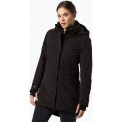 Płaszcze damskie pastelowe: Didriksons - Damski płaszcz funkcyjny, czarny