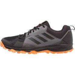Adidas Performance TERREX TRACEROCKER Obuwie hikingowe  core black/carbon/hires orange. Czarne buty sportowe męskie adidas Performance, z materiału, outdoorowe. Za 379,00 zł.