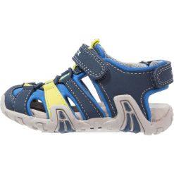 Sandały męskie skórzane: Geox SANDAL KRAZE Sandały trekkingowe navy/turquoise
