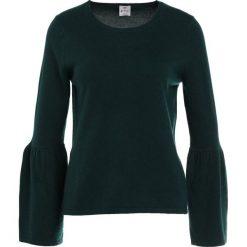 Swetry klasyczne damskie: FTC Cashmere TROMPETENARM Sweter dark green