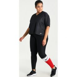 Nike Performance Tshirt basic black/white. Czarne topy sportowe damskie marki Nike Performance, z lyocellu. Za 139,00 zł.