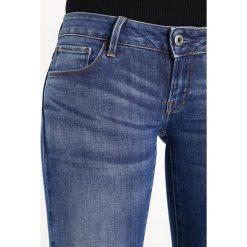 GStar 3301 LOW SKINNY  Jeans Skinny Fit elto superstretch. Niebieskie rurki damskie G-Star, z bawełny. Za 419,00 zł.
