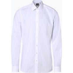 Olymp Level Five - Koszula męska łatwa w prasowaniu, czarny. Czarne koszule męskie non-iron marki Cropp, l. Za 229,95 zł.