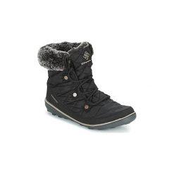Śniegowce Columbia  HEAVENLY SHORTY OMNI-HEAT. Czarne buty zimowe damskie Columbia. Za 449,99 zł.