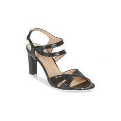 Sandały France Mode  ZALIUM. Czarne rzymianki damskie France Mode. Za 496,30 zł.