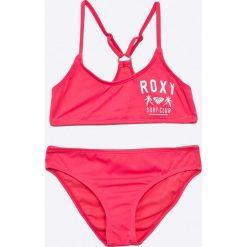 Roxy - Strój kąpielowy dziecięcy 128-176 cm. Fioletowe dół bikini marki OLAIAN, z elastanu, sportowe. W wyprzedaży za 129,90 zł.