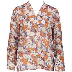 Bluzka - Comfort fit - w kolorze pomarańczowo-białym. Brązowe topy sportowe damskie Seidensticker, z wiskozy. W wyprzedaży za 136,95 zł.