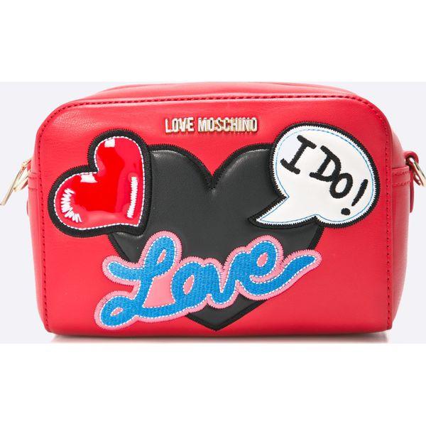 4104aae2c7eb5 Love Moschino - Torebka - Różowe torebki klasyczne damskie marki ...
