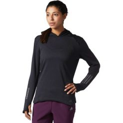 Adidas Bluza damska RS CLima Hoodie czarna r. M (BS2903). Czarne bluzy sportowe damskie Adidas, m. Za 230,00 zł.
