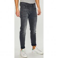 G-Star Raw - Jeansy. Czarne jeansy męskie slim marki G-Star RAW, l, z materiału, retro. Za 469,90 zł.