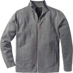 Bluza rozpinana Regular Fit bonprix szary melanż. Szare bejsbolówki męskie bonprix, l, melanż. Za 89,99 zł.