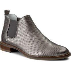 Sztyblety GINO ROSSI - Nevia DSH341-W36-0028-0400-0 1M. Szare buty zimowe damskie marki Gino Rossi, ze skóry, na obcasie. W wyprzedaży za 269,00 zł.