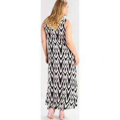 Długie sukienki: Evans ZEBRA STRIPE  Długa sukienka black/white