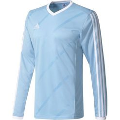 Adidas Koszulka piłkarska męska Tabela 14 Long Sleeve Jersey niebiesko-biała r. XXL (F50432). Białe koszulki sportowe męskie Adidas, m, z jersey. Za 68,19 zł.