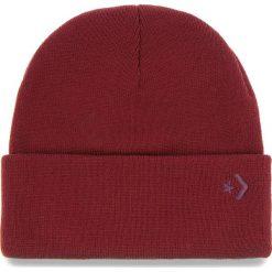 Czapka CONVERSE - 609867 Dark Burgundy. Czerwone czapki męskie Converse, z materiału. Za 89,00 zł.