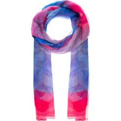 Apaszki damskie: Niebiesko-różowa cieniowana apaszka QUIOSQUE