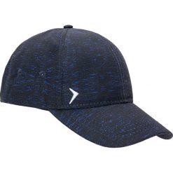 Czapka męska CAM600 - niebieski melanż - Outhorn. Niebieskie czapki z daszkiem męskie Outhorn, na lato, melanż, z materiału, sportowe. Za 29,99 zł.