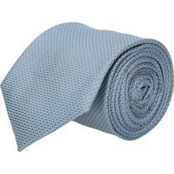 Krawat platinum niebieski classic 221. Niebieskie krawaty męskie Recman, z materiału, eleganckie. Za 49,00 zł.