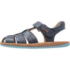 Camper BICHO  Sandały navy. Niebieskie sandały chłopięce Camper, z kauczuku. Za 259,00 zł.