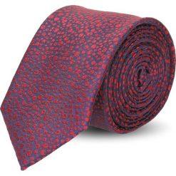 Krawat platinum bordo classic 231. Brązowe krawaty męskie Recman. Za 49,00 zł.