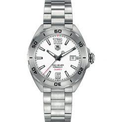 ZEGAREK TAG HEUER Formula One WAZ2114.BA0875. Czarne zegarki męskie marki KALENJI, ze stali. Za 6990,00 zł.