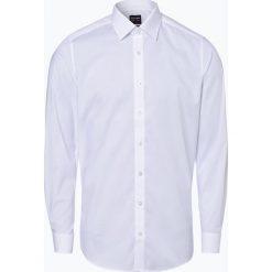 Olymp Level Five - Koszula męska łatwa w prasowaniu, czarny. Czarne koszule męskie na spinki marki Cropp, l. Za 229,95 zł.
